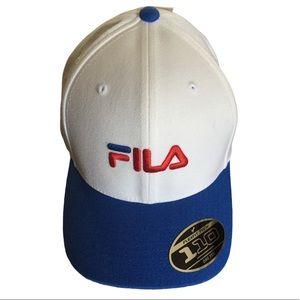 New Fila baseball style adjustable snap back.